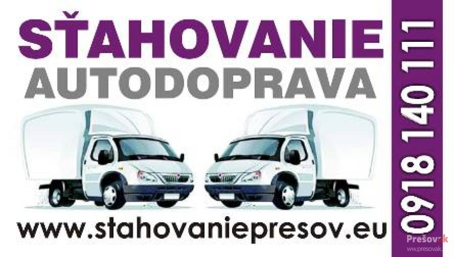 Sťahovanie Prešov a autodoprava TOSAD, foto 4
