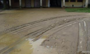 V okrese Bardejov prišla silná búrka, vytopilo až tri obce