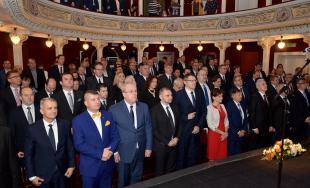 Nový župan Milan Majerský a polanci zložili slávnostné sľuby