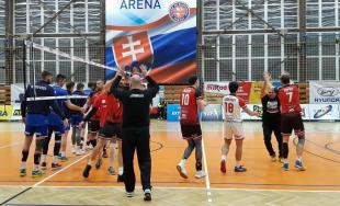 Prešovskí volejbalisti zdolali lídra tabuľky
