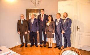 Stretnutie županov v Prešove