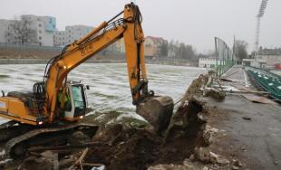Výstavba futbalového štadióna v Prešove