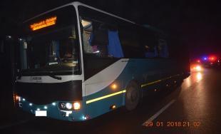 Kolízia kamióna s autobusom pri Prešove