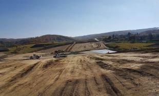 Aktuálne fotografie z výstavby západného obchvatu D1 Prešov, západ - Prešov, juh