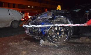 Dopravná nehoda 6.2.2018 v Kežmarku