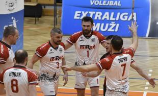 Volejbalový zápas VK MIRAD PU Prešov a TJ Spartak Myjava