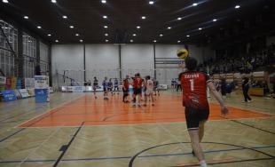 4. zápas semifinále play- off, VKP Bystrina SPU Nitra zdolala VK MIRAD PU Prešov