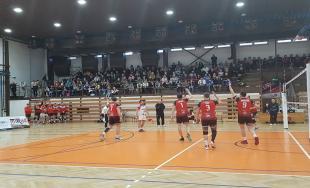 Prešovskí volejbalisti vstúpili do súboja obronz úspešne