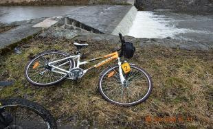 Zrážka na cyklistickom chodníku
