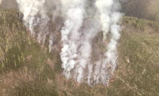 Rozsiahly požiar lesa vo Vysokých Tatrách