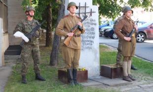 FOTO: 73. výročie ukončenia druhej svetovej vojny v Prešove