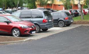 Nové parkovacie miesta na sídlisku Sekčov