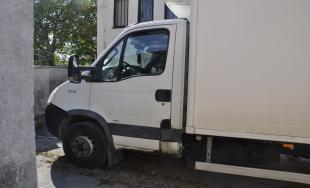 Krádež z nákladných áut