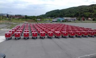 Protipovodňové vozíky pre Prešovský kraj