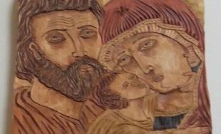 Drevené ikony v kaštieli Stropkov