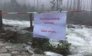 Nepriechodné chodníky v Tatrách