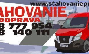 Sťahovanie Prešov a autodoprava TOSAD